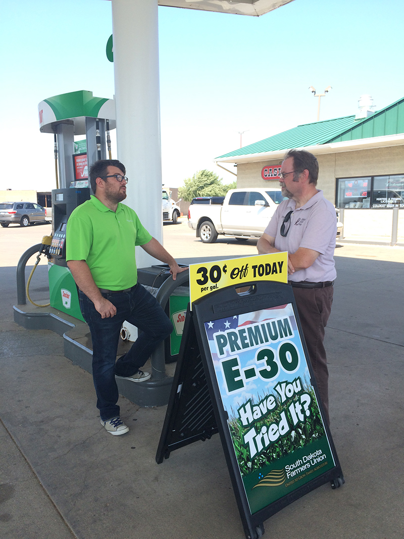 SDFU Industry Initiatives | South Dakota Farmers Union Premium E-30 at the pumps