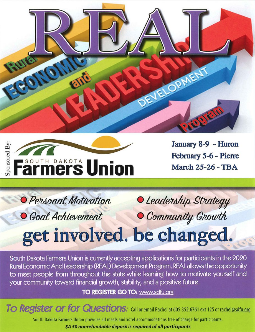 Rural Economic and Leadership Development Program | SDFU Website