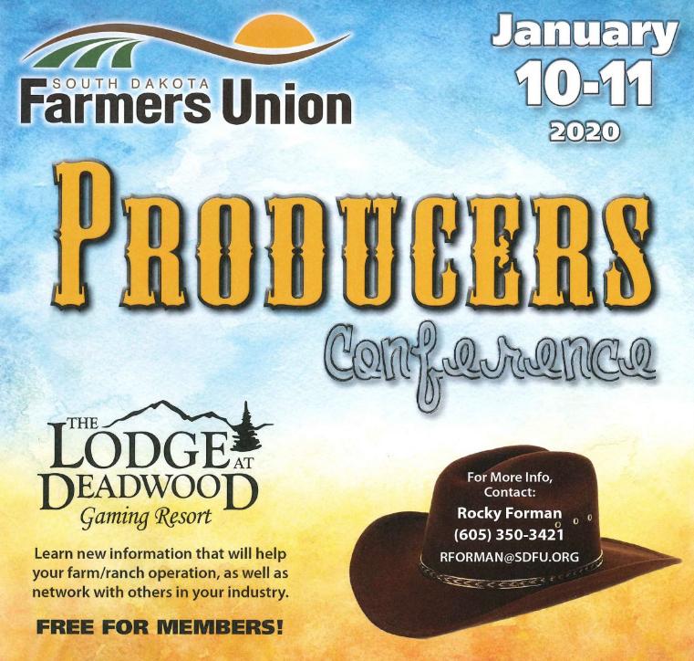 Young Producers Program | South Dakota Farmers Union