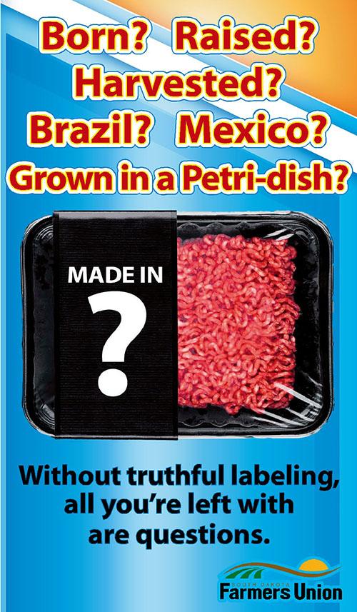 SDFU Industry Initiatives   South Dakota Farmers Union - truthful labelling